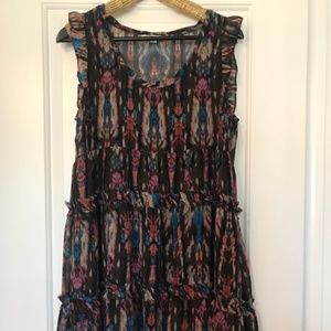 Anthropologie Lili's Closet Tiered Dress M