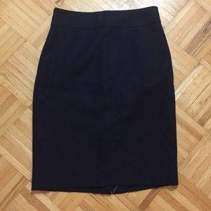 [J. Crew] NWT Navy Blue Pencil Skirt!
