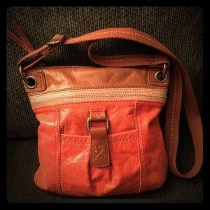 Sak leather crossbody purse