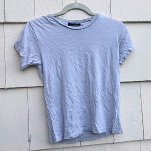 Brandy Melville Light Blue Short Sleeve Top
