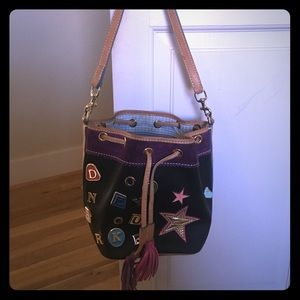 Dooney and Bourke Drawstring Bucket Purse