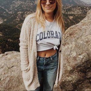 Bnwt Brandy Melville Colorado tee shirt