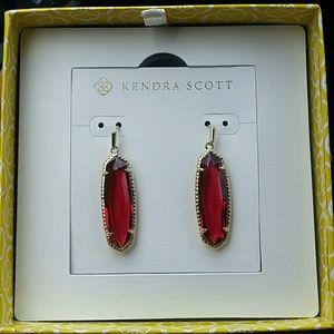 Kendra Scott Layla earrings in clear berry