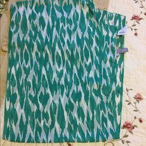 Chico's Scarves Vivid Green Scarf NWT