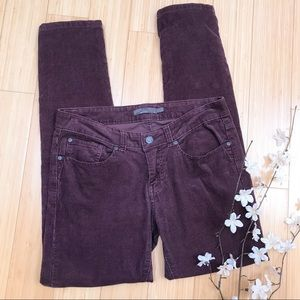 PRANA grape corduroy pants, 4.