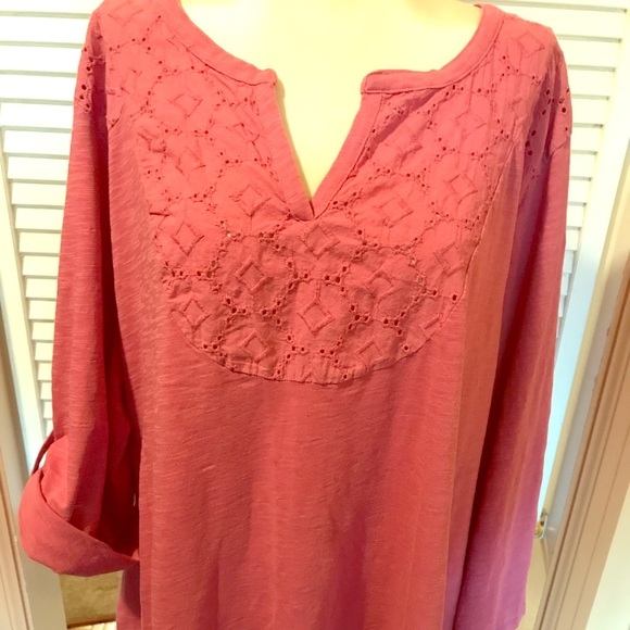 6f4b47ba605 jcpenney Tops - ➕ JC Penney St. Johns Bay Top Plus Size 3X EUC!