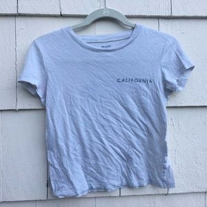 Madewell California Sunset Short Sleeve Top