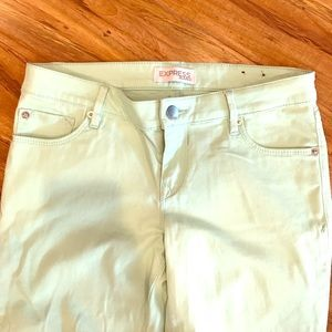 Express pants. Size 8. Mint green