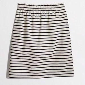 J. Crew stripped skirt