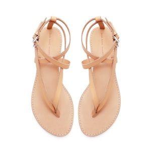 Zara Basic Thong Sandal