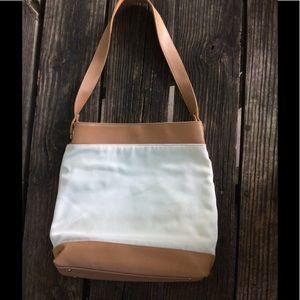 Nine West Cream/Brown Shoulder Bag