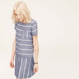 Lou & Grey Striped Linen Dress