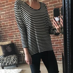 Cotton striped and sparkly shirt!