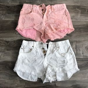 Distressed F21 Shorts Bundle