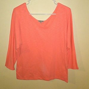 Charlotte Russe Coral Blousy Top
