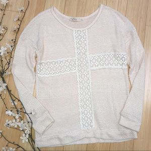 Anthropologie ELODIE soft sweater, S.