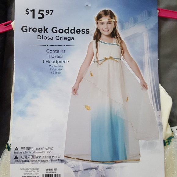 greek goddess halloween dress