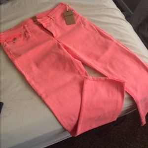Pink true religion jeans!