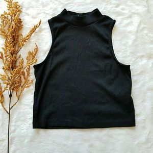 H&M Cropped High Neck Top!!