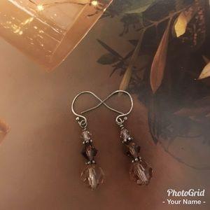 New Swarovski crystals earrings.🎊🎀🛍