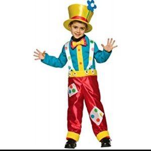 Other - Boys clown costume 4-6x