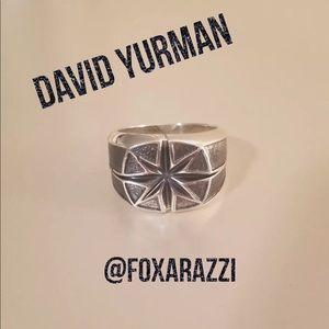 Men's David Yurman Maritime North Star Signet Ring