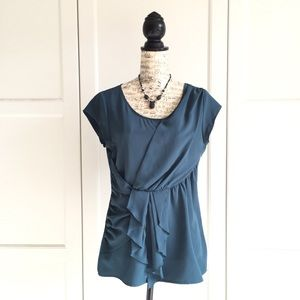 Banana Republic Teal Green Top