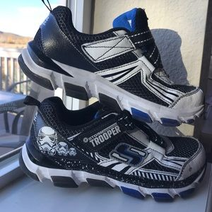Star Wars Storm Trooper Sketchers Sneakers SZ 1.5