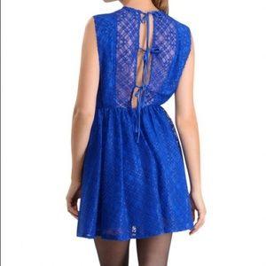 Sandro Blue lace dress