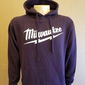 Other - Men Milwaukee Navy Blue Pullover Hoodie