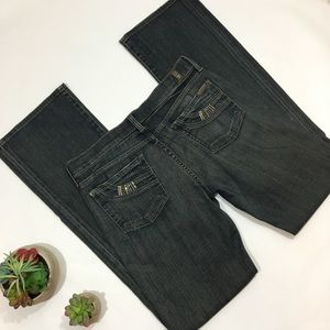7 For All Mankind Bootcut London Crystal Size 29