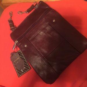 Handbags - New Leather shoulder bag 💼 dark maroon