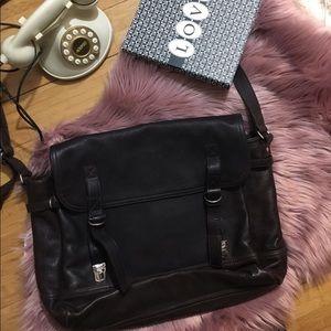 JCrew messenger Leather bag