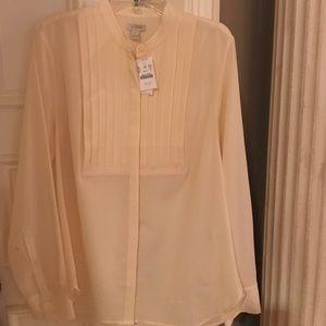J. Crew polyester blouse