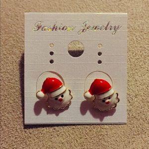 New Santa earring.