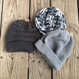 3 nwt earthbound beanies