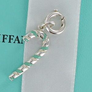 0882bd4bb9f6 Tiffany   Co. Jewelry - RARE Tiffany Blue Enamel Candy Cane Charm