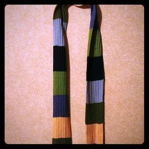 Multicoloured scarf