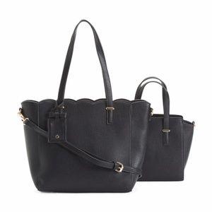 Handbags - ALYSSA 2pc Convertible Tote Set