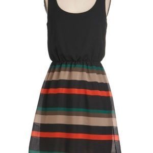 ModCloth CocoLove Stripped Day Dress