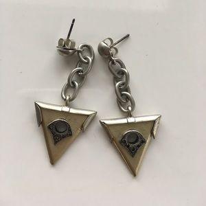 Madewell Triangle Earrings