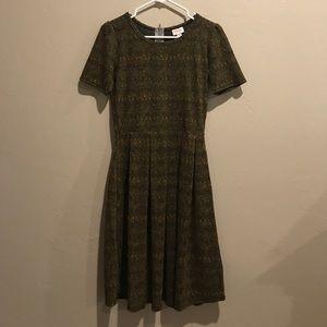 LuLaRoe Amelia dress. Medium. Never worn.