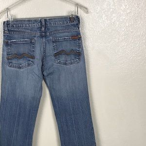 7 FAM Boot cut jeans size 26