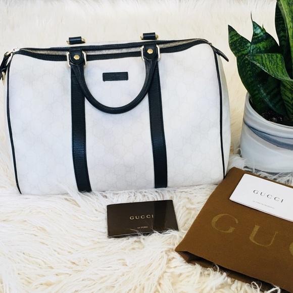 f436c57b7f3f Gucci Bags | Gg Coated Canvas Joy Boston Bag | Poshmark