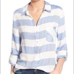 'Del Mar' Stripe button down shirt