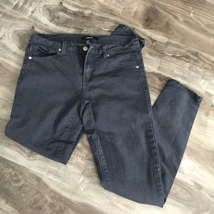 F21 Dark Gray Stretch Pants