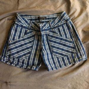 BCBG Max Azria checkered shorts