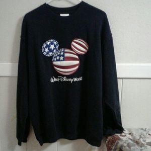 Flag Disney sweatshirt