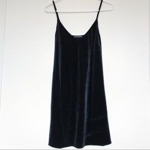 Randy Melville velvet slip dress