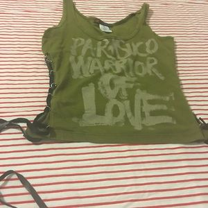 Parasuco olive tank top